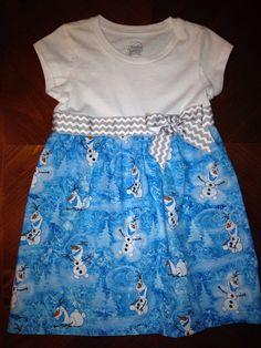 Frozen's Olaf dress on Etsy, $30.00