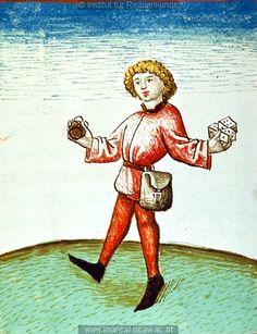 Spieler (Gambler) Dieses Bild: 006740 1479 ; 1479 ; Wien ; Österreich ; Wien ; Österreichische Nationalbibliothek ; cod. 3049 ; fol. 99v