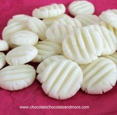 Cream Cheese Mints auch als Hochzeits Mints-einfach zu machen, perfekten bekannt, für jedes Event zu dienen.