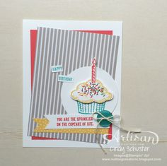 Sprinkles of Life Stamp Set = $3 donation to RMHC ~ Cindy Schuster