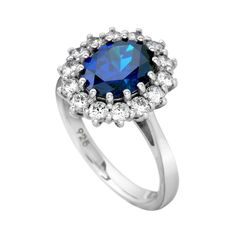 Find this Stunning Sapphire & Cubic Zirconia Cluster Ring for only €125.00 from our Diamonfire Collection @ www.rocks.ie. This beautiful fashion accessory will finish off your look for any occasion.#irishjewellers #dublinjewellers #graftonstreet #stillorganvillage #weddingoutfit #anniversary #fashion2020#ladiesfashion #giftidea #forher