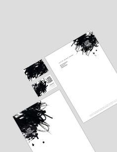 Lars von Trier / Briefbogen & Visitenkarte  by Vivien Staff - vivienstaff.com