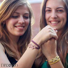 Un amico è la cosa più preziosa che tu possa avere, e la cosa migliore che tu possa essere. (Douglas Pagels)  Braccialetti doppio giro TIFFANY. www.fratellidreosto.com