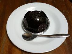 オーボンスーヴニールの濃厚なチョコケーキ