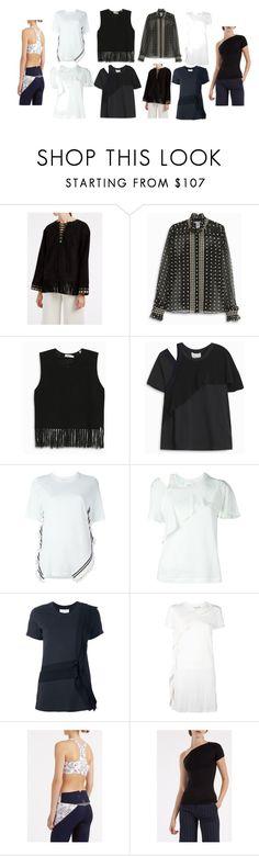 """black&white"" by monica022 ❤ liked on Polyvore featuring Talitha, Oscar de la Renta, A.L.C., 3.1 Phillip Lim, Lucas Hugh, Helmut Lang and vintage"