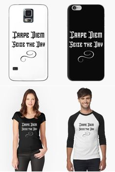 Carpe Diem Seize The Day Inspirational Latin Quote  Show your independence, live for today and enjoy your life. Be bold and wear this perfect design to show your individually and love for life. A great fun saying that is a perfect gift for both family and friends.  #carpediem #lifequote #seizetheday #makeithappen #inspirationalquote #motivationalquote #giftideas #homedecor #redbubblestickers #redbubble #art #ad @giftsbyminuet Favorite Quotes, Best Quotes, Life Quotes, Latin Quotes, Red Bubble Stickers, Motivational Quotes, Inspirational Quotes, Seize The Days, Enjoy Your Life