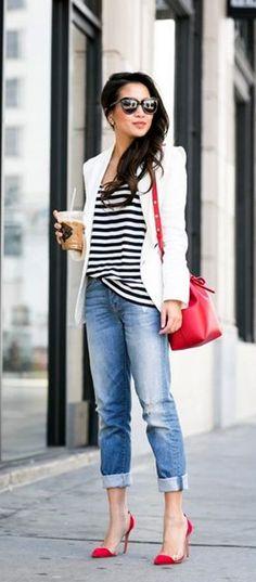 40 Ways to Wear Blazer Outfits for Work 2018