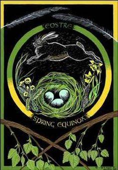 **My birthday is the spring equinox; my spirit animal is a rabbit