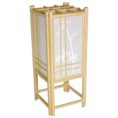 The serene beauty of nature meets the refined asymmetry of ancient Asian artwork in the Oriental Furniture Bamboo Tree Lamp 18 Inch - Natural . Oriental Decor, Oriental Furniture, Asian Lighting, Homemade Lamps, Chinese Lamps, Natural Table Lamps, Bamboo Stalks, Asian Artwork, Tree Lamp