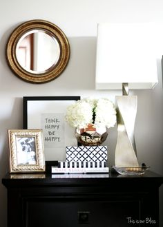 How To Style A Nightstand   Back To Basics   Bedside Table Styling    Bedoroom Decor