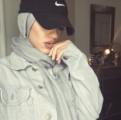 100 Baseball Cap With Hijab Ideas In 2020 Hijab Fashion Hijab Outfit Hijabi Fashion