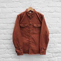 Edwin Loggerhead Shirt Rust