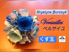 [ORIGAMI ITA] Kusudama Versailles/Buquet Di Rose (Krystyna Burczyk) || San Valentino Special - YouTube