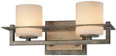 Minka Lavery Lighting 6462-273 Compositions 2 Light Vanity at Del Mar Fans & Lighting, over 100,000 happy customers