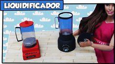 Como fazer: Liquidificador para bonecas Barbie, Monster High, E.A.H entr...
