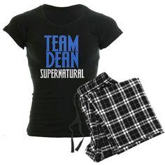 supernatural++Sleepwear | ... > Dean Pajamas & Loungewear > Dean Supernatural Women's Dark Pajamas