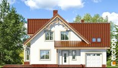 Dom w tamaryszkach 3 Home Fashion, Cabin, Mansions, House Styles, Home Decor, Decoration Home, Manor Houses, Room Decor, Cabins