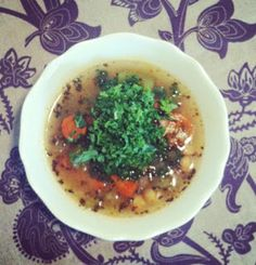 Good Golly, Miss Dolly : Magic Soup--- cure all vegetable broth soup