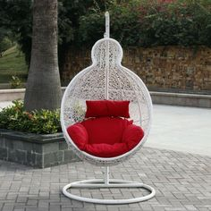 Examples For Basket Chairs White Design