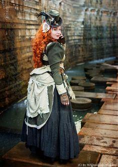 Lady Eliane Steam VI by MADmoiselleMeli.deviantart.com on @deviantART