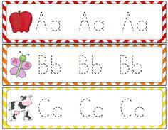 Kroger's Kindergarten: Number and letter tracing freebies.