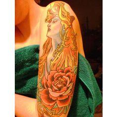 The Art Nouveau Blog: Art Nouveau Tattoos (some nudity)