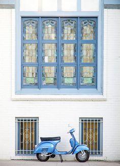 Blue Dream | #Vespa #italiandesign