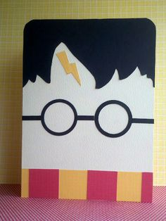 Harry Potter Card by Jessica Yoder-Jones. Stop by the blog for the template