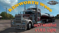 Kenworth Light Edit by Truck Mods, American Truck Simulator, Semi Trailer, Social Media Pages, Trucks, Truck, Cars