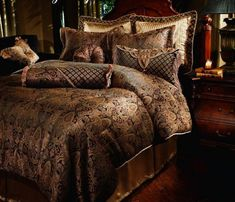 Southern Textiles Manchester Bedding!!!! LOVE THE RICH COLORS !!! 'Cherie