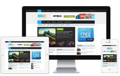 Awake A Colorful Metro Style Responsive Magazine Blog WordPress Theme