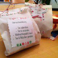 Stempel-Exempel: 15 Minuten Weihnachten in der Tüte ...