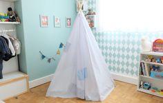 Tuto DIY créer un tipi http://www.doolittle.fr/creez-avec-vos-enfants-12/