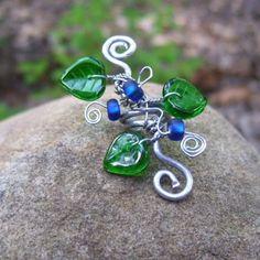 Custom Design Fantasy Elven Ear Cuff by StarGazingWoodElf on Etsy, $26.00