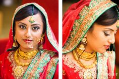 love this Indian bride! | www.georgestreetphoto.com