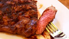 Traeger's Beef Denver Steak. Experience the most tender and moist steak ever! Just throw it on your Traeger!