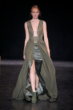 The Look: Tyrell - Basil Soda Fall/Winter 2012 haute couture