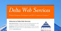 Website Designing Company in Gurgaon | SEO Company in Gurgaon #profesional #webdesign #creative #website #development  #Website #WesiteDesigning #WebDevelopment #WebDesigning #SearchEngineOptimization #eCommerceSolutions #DomainAndHosting #DeltaWebServices https://goo.gl/t7B7tD