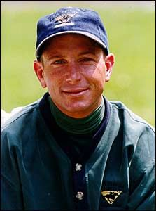 Chris Antley (1966 - 2000) Jockey, won two of the three Triple Crown races in 1999 (the Kentucky Derby and the Preakness) on the horse Charismatic, once won 9 races in one day