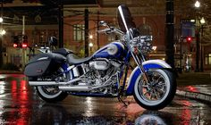 A low seat and smooth handling make this beauty a stand-alone favorite. | Harley-Davidson CVO Softail Deluxe