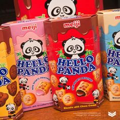 Hello Pandas! Have tried the choco choco ones. They were really good!! Would recommend. These to anyone!