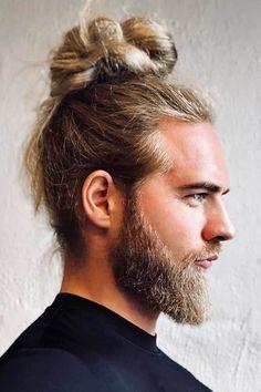 Haircut inspiration long trending hairstyles ideas for 2019 Man Bun Haircut, High Bun Hairstyles, Undercut Hairstyles, Hairstyles Haircuts, Straight Hairstyles, Trending Hairstyles, Hairstyle Pics, Stylish Hairstyles, Creative Hairstyles