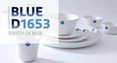 Blue D1653 - Touch of Blue - Royal Delft