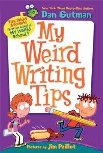 I started reading this book to my fifth graders today and it is awesome!!  There are some amazing writing tips for students.  Dan Gutman does an amazing job reaching out and encouraging young writers!