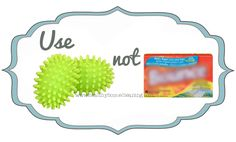 Use THIS, Not That! Norwex Dryer Balls vs. Dryer Sheets