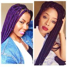 The Purple style look nice