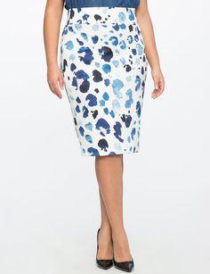 Neoprene Pencil Skirt from eloquii.com