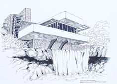 Frank Lloyd Wright, Falling Waters, 1935