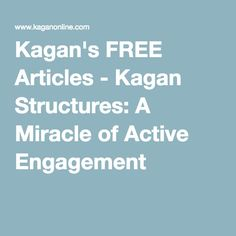 spencer kagan cooperative learning structures pdf