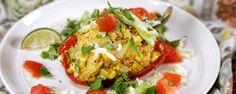 Fiesta Rice Stuffed Peppers Recipe by Clinton Kelly - The Chew